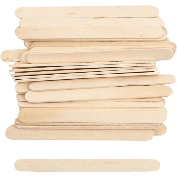 Bâtonnets en bois - 1 x 11,5 cm - 30 pcs - Photo n°1