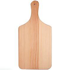 Planche à découper en bois à suspendre - 28 x 14 cm