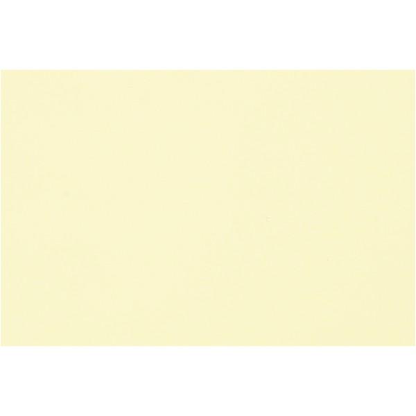 Papier coloré, A3 297x420 mm, 500 flles, jaune clair - Photo n°1