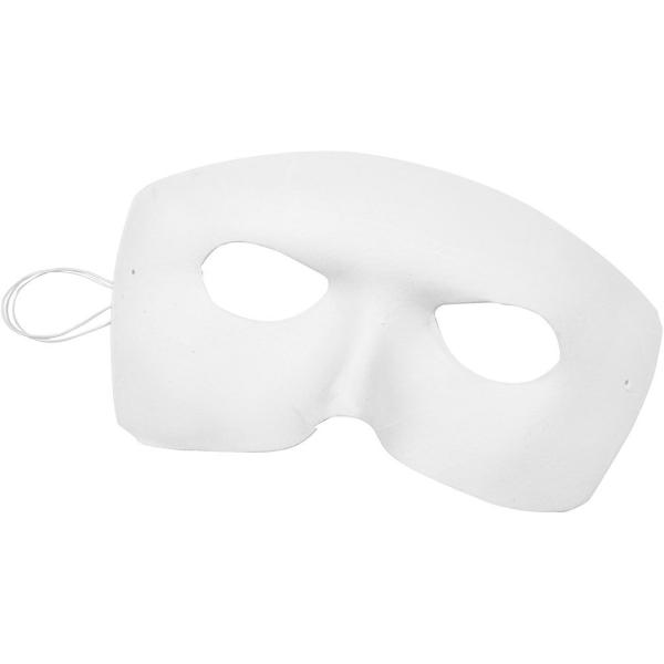 Masque adulte à personnaliser - velours  - 12 x 17 cm - Photo n°1