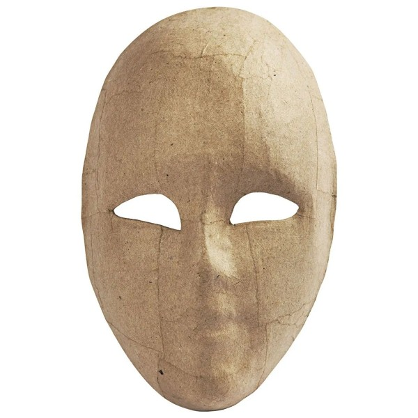 Masque visage adulte - 16 x 21 cm - Photo n°1