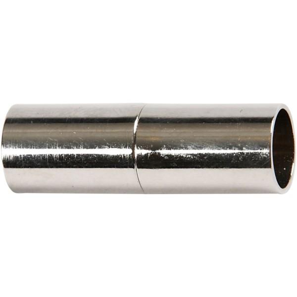 Fermoirs magnétiques 23 mm - Argenté - 2 pcs - Photo n°1