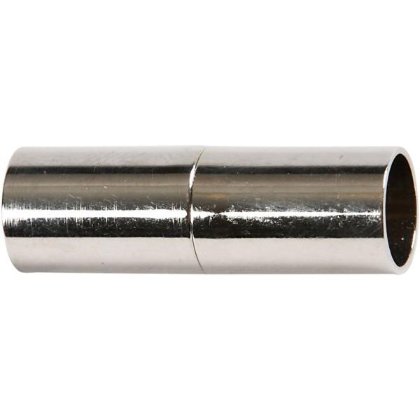 Fermoirs magnétiques 20 mm - Argenté - 2 pcs - Photo n°1