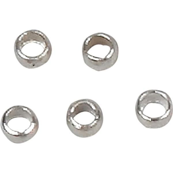 Perles à écraser argentées 2 mm - 100 pcs - Photo n°1