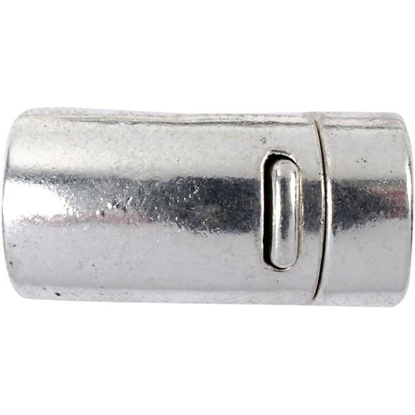 Fermoir magnétique 26 mm - Argent antique - Photo n°1