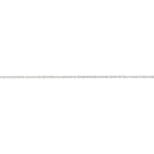 Chaine Jaseron argentée - 2 mm x 20 m - Photo n°1
