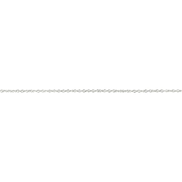 Chaine Jaseron argentée - 2 mm x 2 m - Photo n°1
