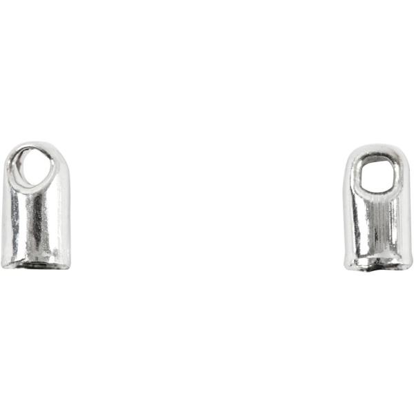 Embouts pour bijoux - Argenté - 3,2 mm - 100 pcs - Photo n°1