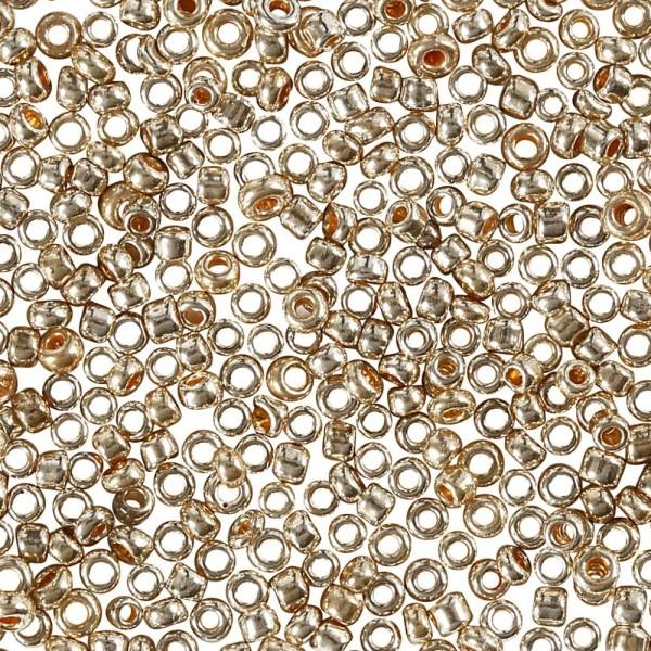 Perles de rocaille - Or rose - 1,7 mm - 25 gr - Photo n°1