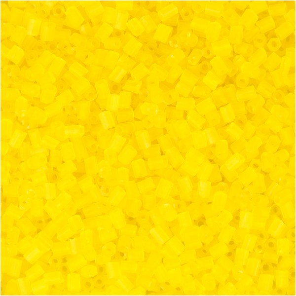 Perles de rocaille 15/0 - Jaune transparent - 500 g - Photo n°1