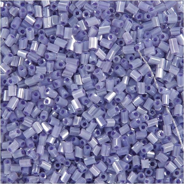 Perles de rocaille 15/0 - Violet transparent - 500 g - Photo n°1