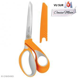 Ciseaux couture tissu Fiskars - Softgrip RazorEdge - 23 cm