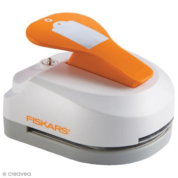 Machine à étiquette - Tag Maker Fiskars - Essentiel - 5 x 7,5 cm - Photo n°1
