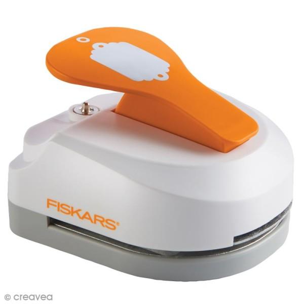 Machine à étiquette - Tag Maker Fiskars - Festonné - 5 x 7,5 cm - Photo n°1