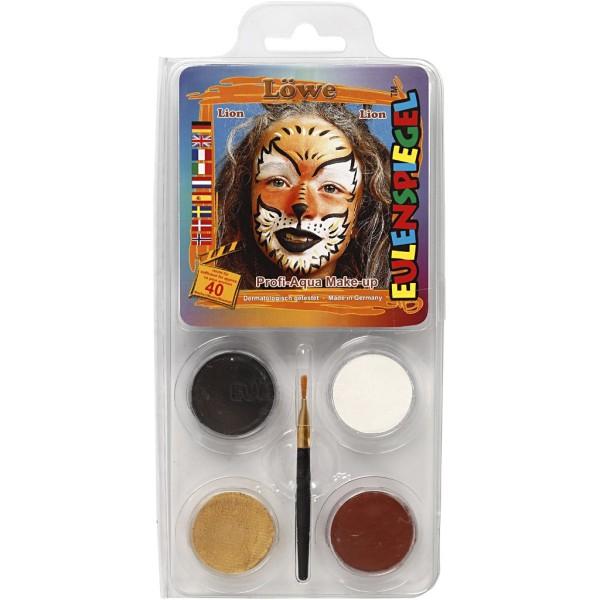 Maquillage enfant - Tigre - 4 couleurs - Photo n°1