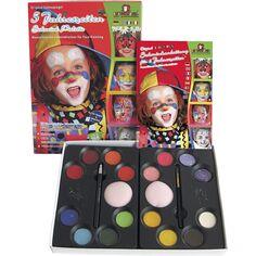 Set maquillage Eulenspiegel - Personnages - Palette et accessoires