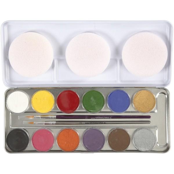 Palette de maquillage - 12 couleurs - Photo n°1