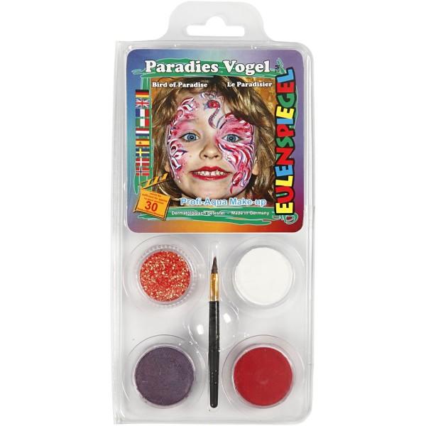 Maquillage enfant - Flamant rose - 4 couleurs - Photo n°1