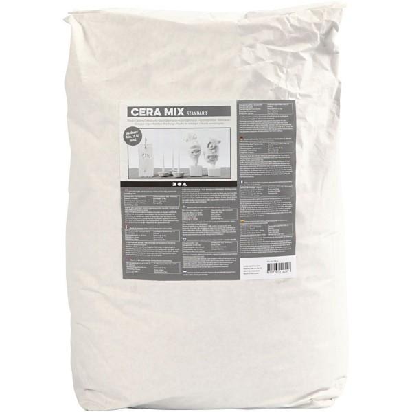 Poudre de plâtre Cera-Mix - Gris clair - 25 kg - Photo n°1