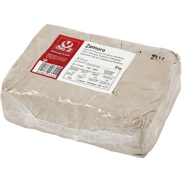 Argile de grès - Blanc cassé - 5 kg - Photo n°1