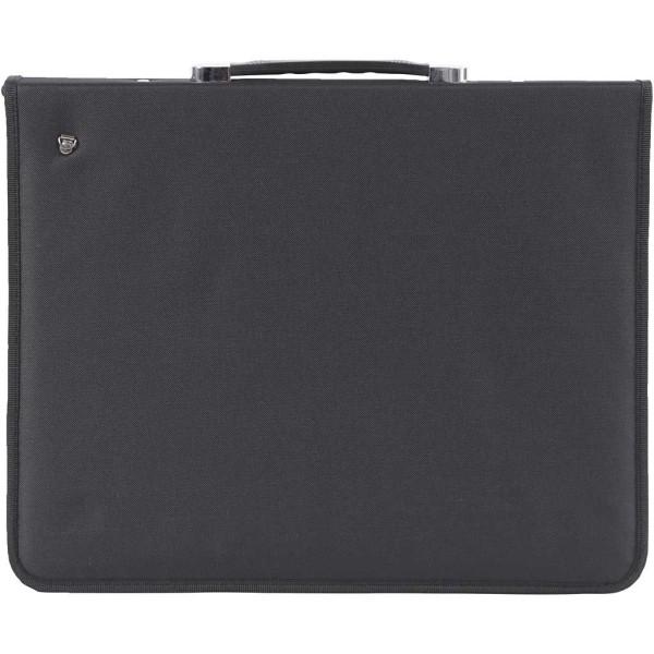 Pochette noire - 3 anneaux - 37 x 45 cm - Photo n°1