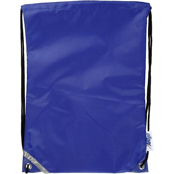 Sac à dos Bleu - 31 x 44 cm - 1 pce - Photo n°1