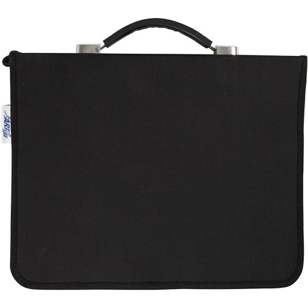 Pochette noire - 4 anneaux - 22 x 30 cm - Photo n°1