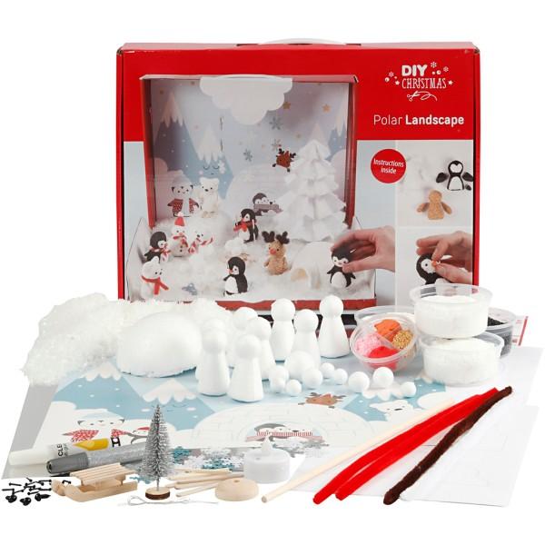 Kit modelage Foam et Silk Clay - Paysage Polaire - Photo n°1