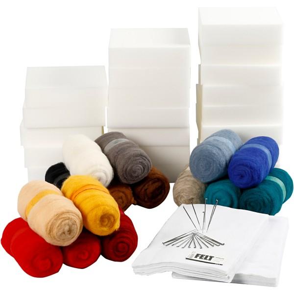 Kit d'Apprentissage créatif, 1 set, Couleurs assorties - Photo n°1