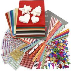 Kit papier créatif Noël - Plus de 750 pcs