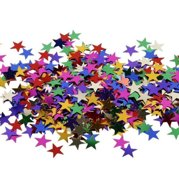 Confettis de table - Etoile - 10 mm - 250 g - Photo n°1