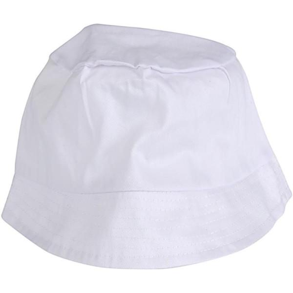 Bob en tissu à décorer - Blanc - 58 cm - 1 pce - Photo n°1