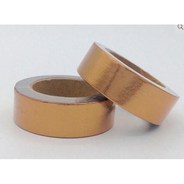 Masking tape foil cuivre 15mm x 10m - Photo n°1