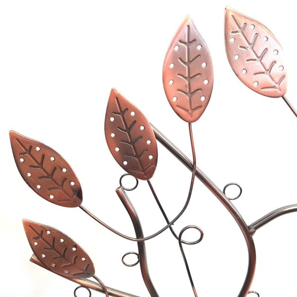 Porte bijoux arbre à boucle d'oreille et bijoux design Cuivre - Photo n°3