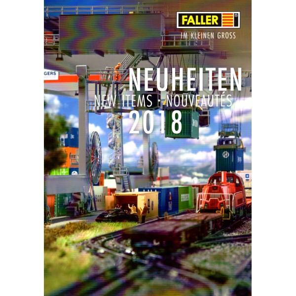 Brochure Faller - Nouveautés 2018 - Photo n°1