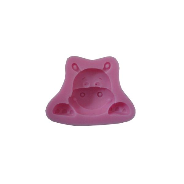 Moule en silicone Hippopotame - Photo n°1