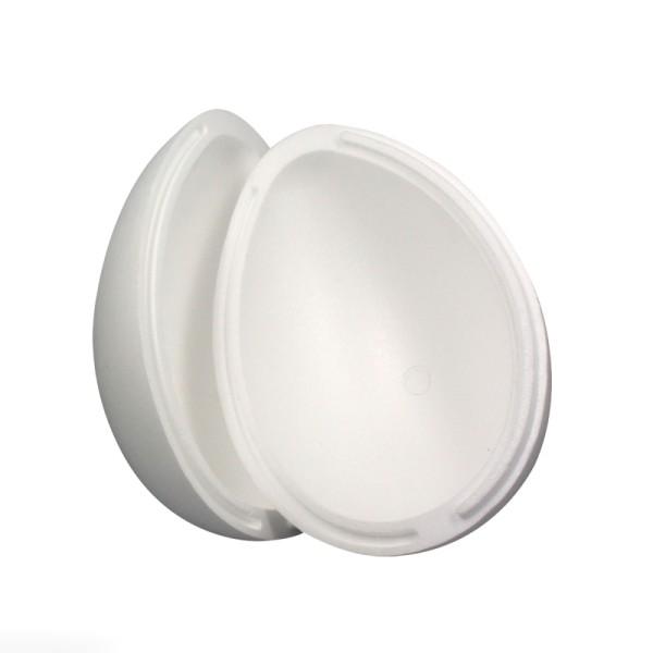 Oeuf en polystyrène - 2 parties - 15,5 cm - Photo n°1