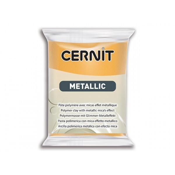 Pâte Cernit Metallic Or 56gr N°050 - Photo n°1