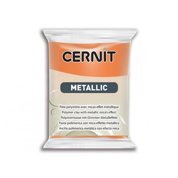 Pâte Cernit Metallic Rouille 56gr N°775 - Photo n°1