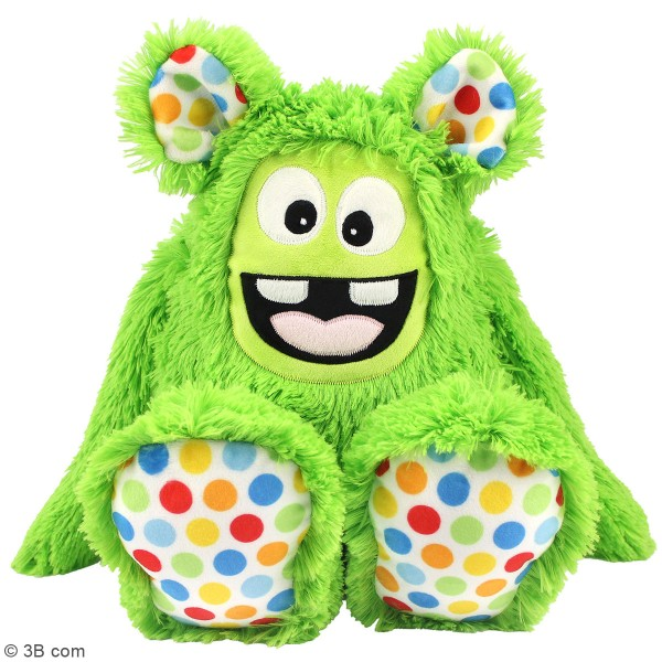 Kit Couture peluche - Monstre poilu vert - 40 cm - Photo n°3