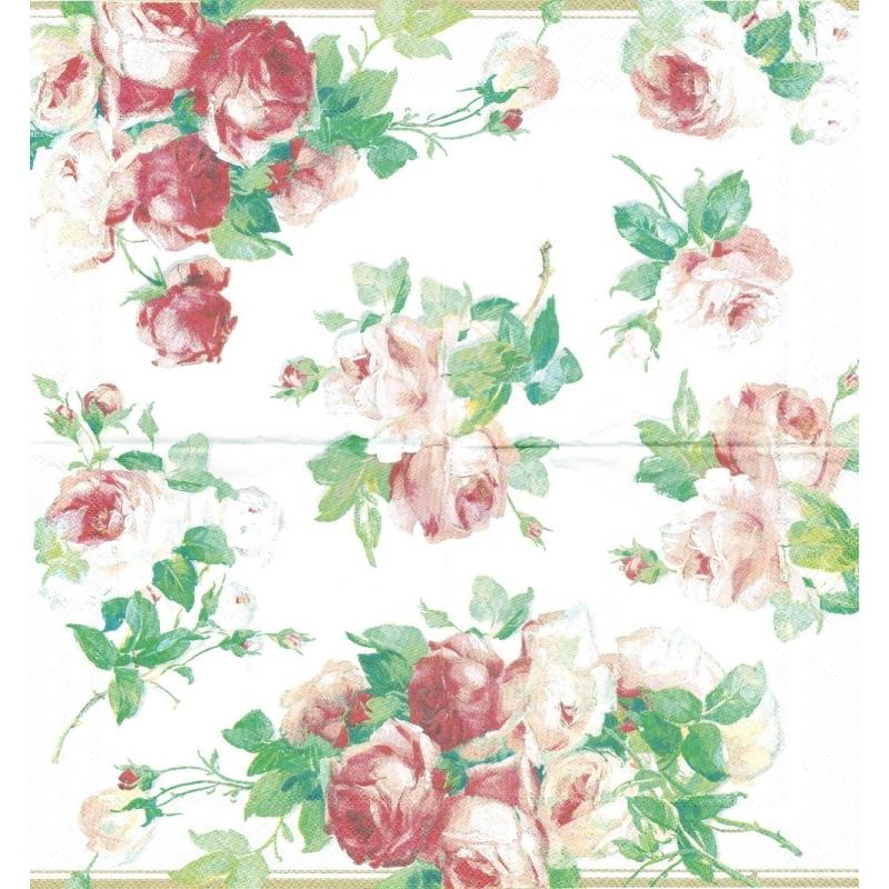 chemin de table en papier rose victoria format 33 cm x 6 m. Black Bedroom Furniture Sets. Home Design Ideas