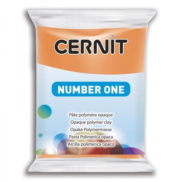 1 pain 56g pate Cernit Number One Orange Ref 56752 - Photo n°1