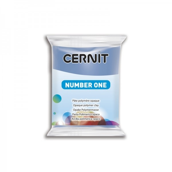 1 pain 56g pate Cernit Number One Pervenche Ref 56212 - Photo n°1