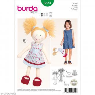 Patron Burda - Accessoire - Poupée pour enfant - 6824