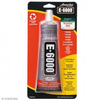 Colle bijoux E6000 - 59,1 ml