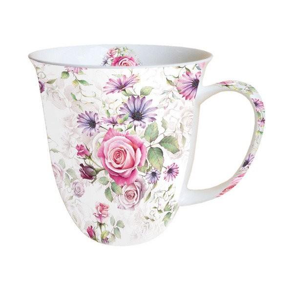 Mug, tasse, porcelaine AMBIENTE 10.5 cm 0.4 l MADELINE - Photo n°1
