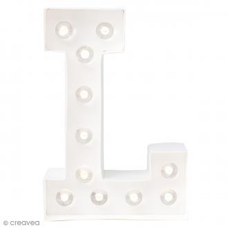 Lettre lumineuse à Led L - 20.3 x 14 x 5.1 cm
