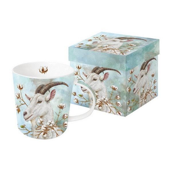 Mug, tasse avec anse en porcelaine 9.5 cm 350 ml THE COTTON KING - Photo n°1