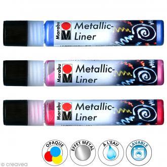 Peinture Metallic Liner 25 ml