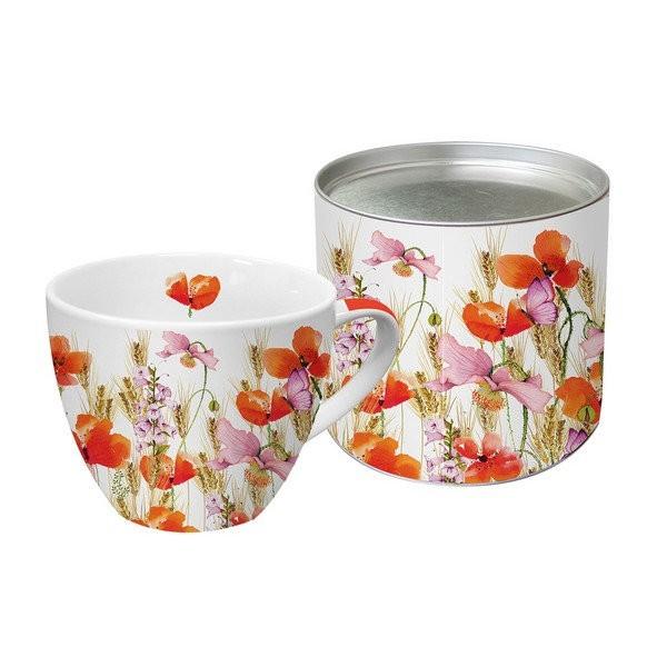 Tasseavec anse en porcelaine PPD 9,5 cm 450 Ml WILD FIELD - Photo n°1
